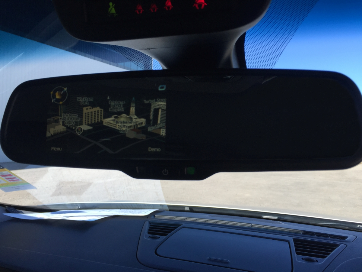 Alfa Romeo Giulietta Replacement Reverse Mirror Monitor With Gps Navigation System on rear view mirror camera system