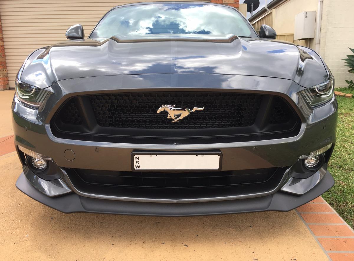 Mustang 2017 Front Parking Sensors Creative Installations
