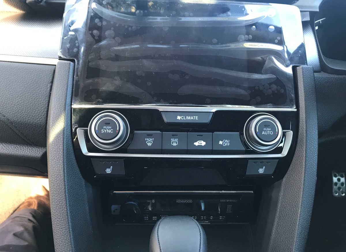 Civic 2017 Kenwood KDC-BT510U Car Stereo   Creative Installations