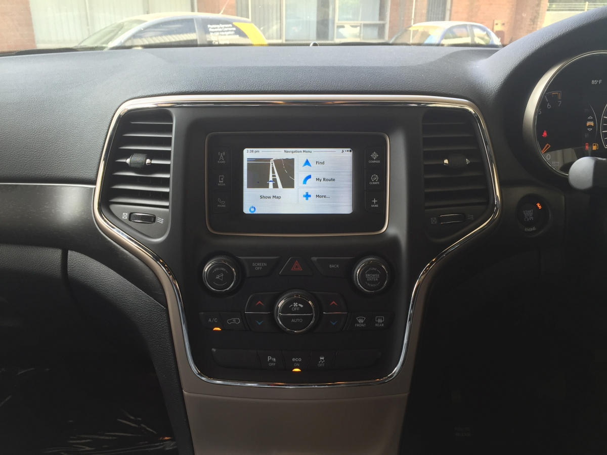 2015 Jeep Grand Cherokee Accessories >> Grand Cherokee 2015 Integrated GPS Navigation System | Creative Installations