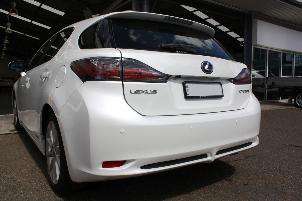 Clean Parking Assist Sensor Lexus