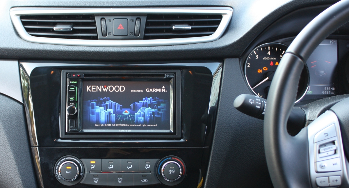 qashqai 2015 kenwood dnx4150dab gps navigation system creative installations. Black Bedroom Furniture Sets. Home Design Ideas