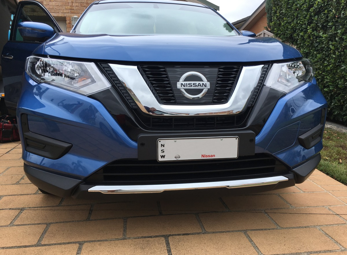 X Trail 2017 Front Parking Sensors Creative Installations