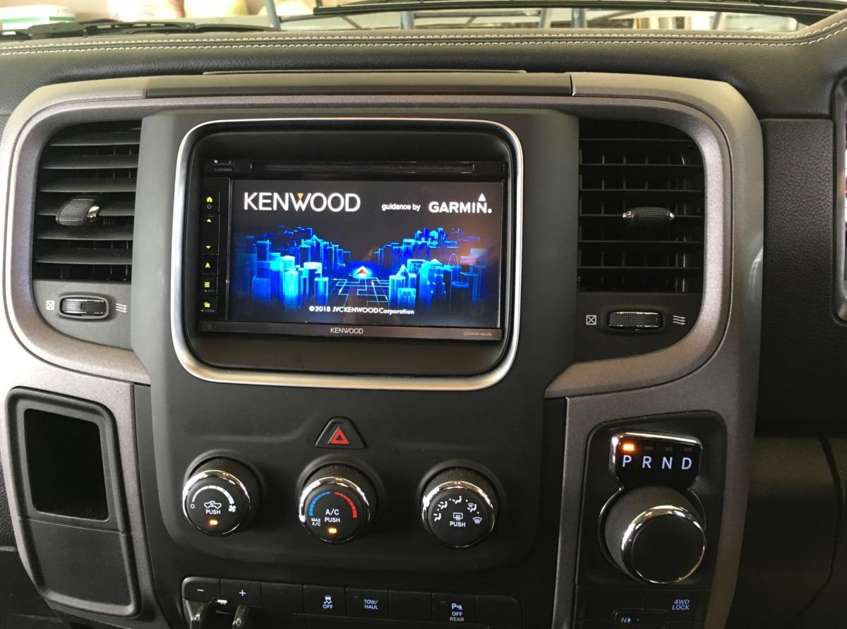 Ram 1500 2018 Kenwood Dnx5180s Gps Navigation System