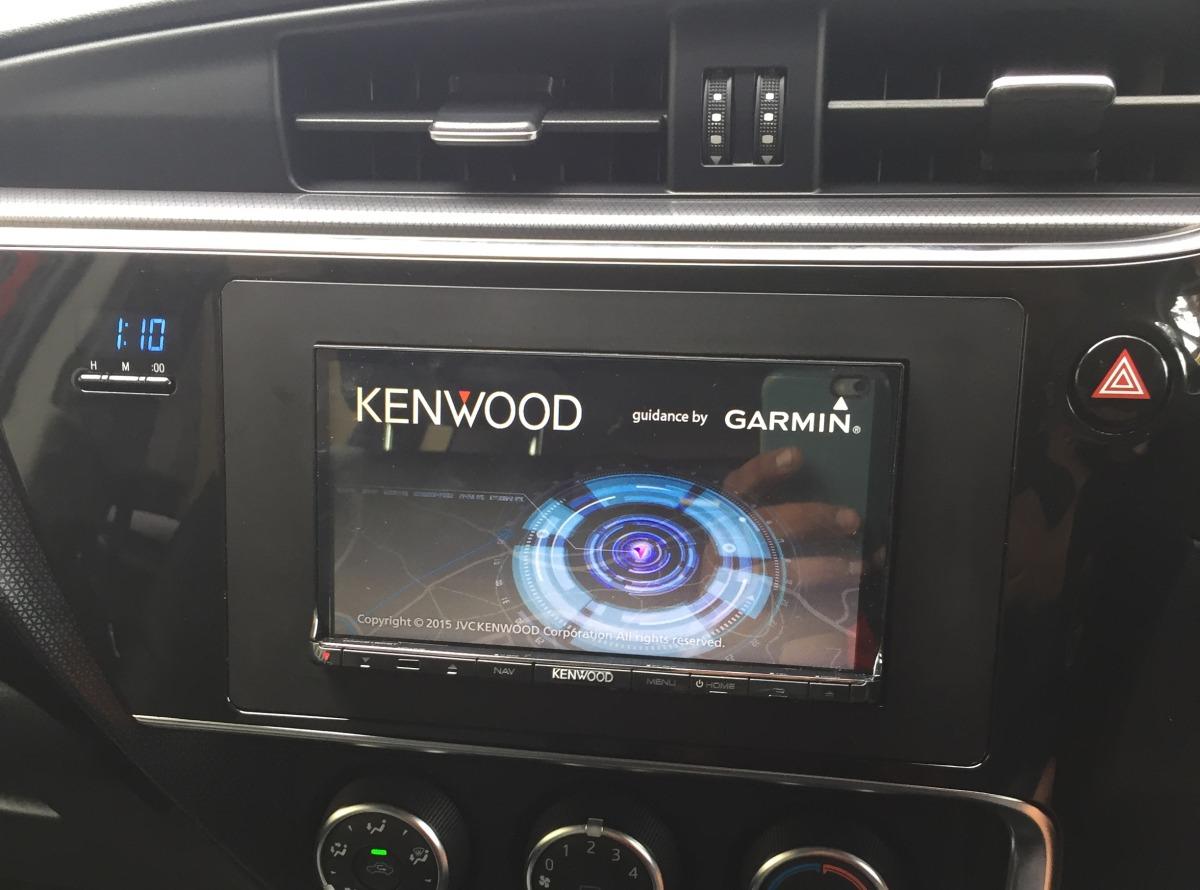 Corolla Hatch 2016 Kenwood Dnn9150bt Sat Nav Creative
