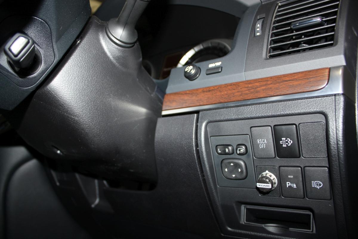 Toyota Land Cruiser 70 >> LandCruiser 70 2016 REDARC Tow-Pro Electric brake controller | Creative Installations