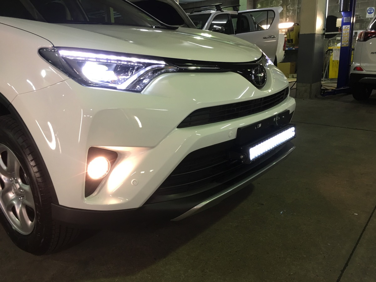Rav4 2017 Db Link 22 Quot Off Road Dual Row Led Light Bar Dblb22c
