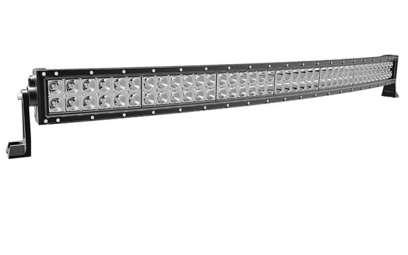 """42"""" Curved LED Light Bar Dual Row"""