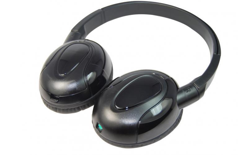 Car Headrest DVD Player Headphones
