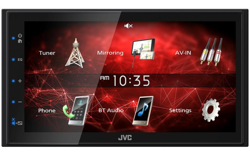 JVC M150BT Bluetooth Car Radio