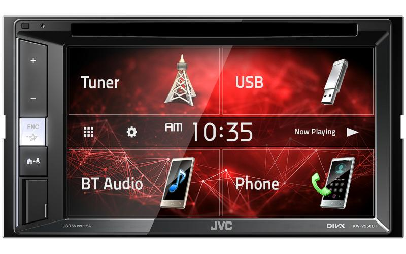 JVC KW-V250BT Bluetooth Car Radio