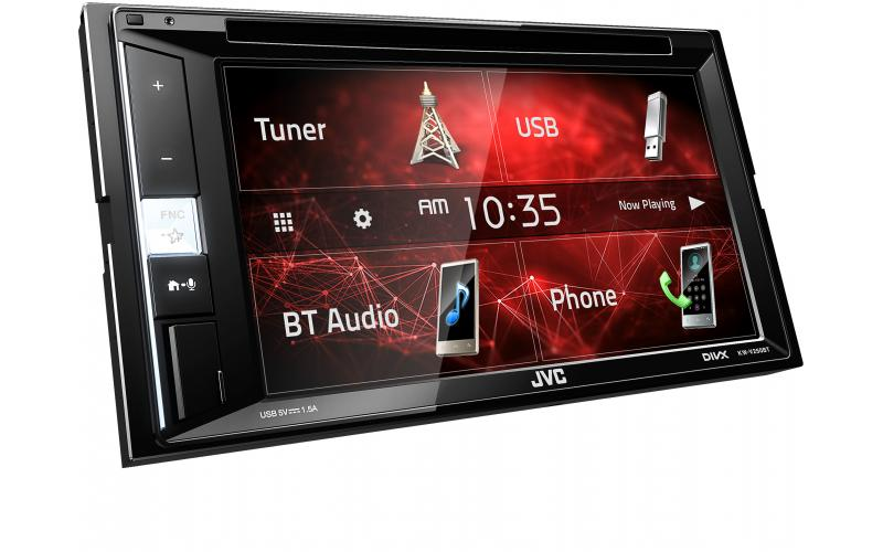 JVC KW-V250BT Bluetooth Car Stereo