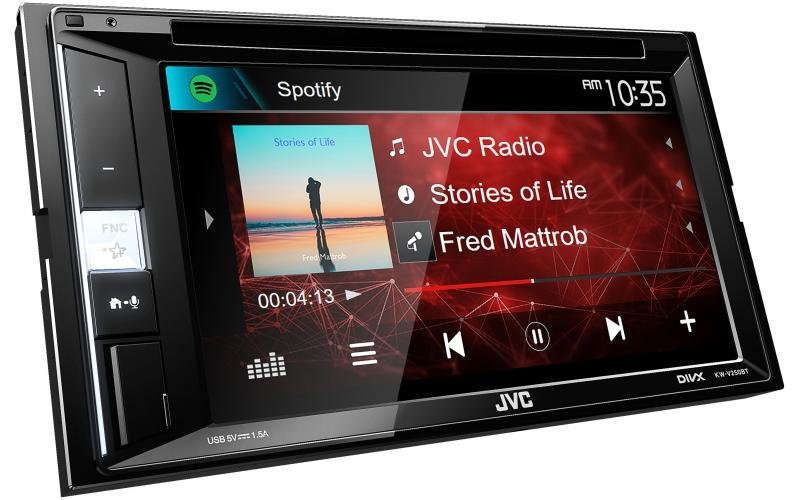 JVC KW-V250BT Spotify Car Stereo