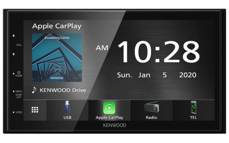 Kenwood DMX5020DABS Apple CarPlay Car Stereo
