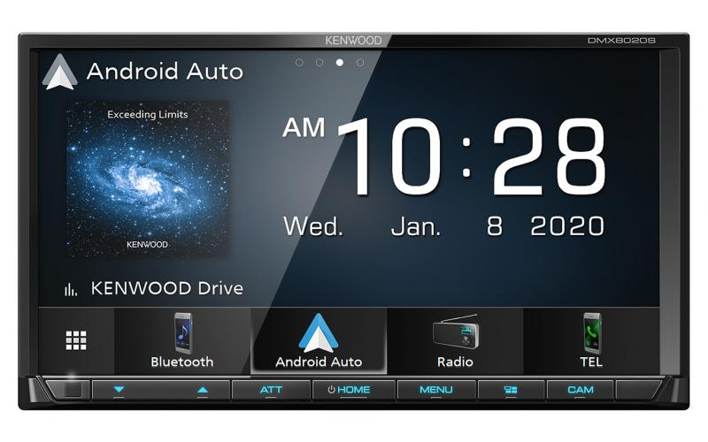 Kenwood DMX8020S Android Auto Car Stereo