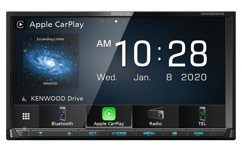 Kenwood DMX8020S Apple CarPlay Car Radio