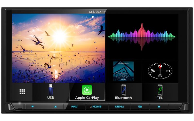 Kenwood DNX9190DABS Apple CarPlay Navigation System