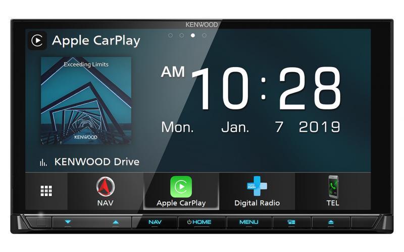 Kenwood DNX9190DABS Car GPS Navigation System