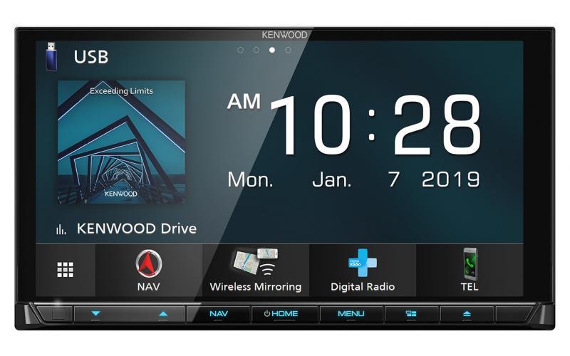 Kenwood DNX9190DABS Car Navigation System