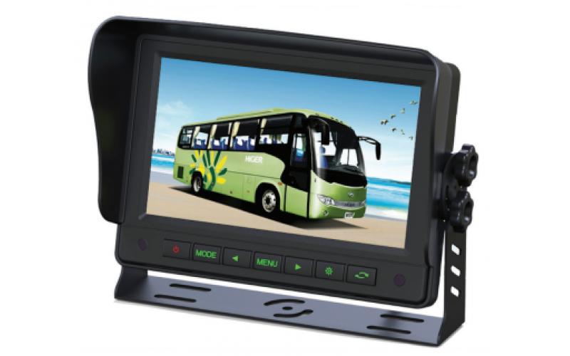Trailer reverse camera monitor