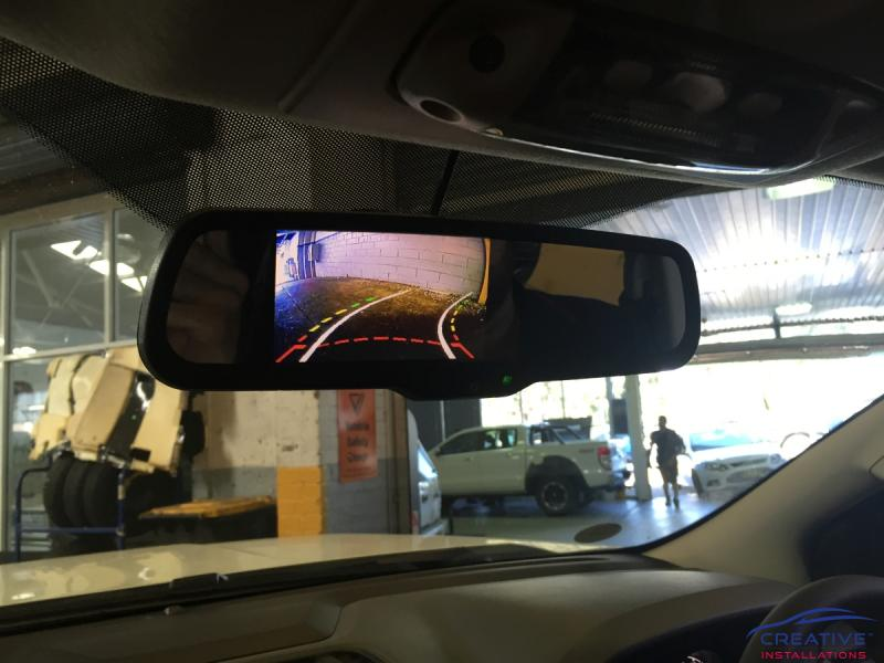 Replacement Reverse Mirror Monitor Creative Installations