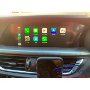 Stelvio Apple CarPlay Upgrade