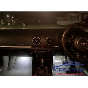 Audi A3 LED Footwell Lights