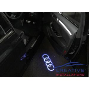 A3 Car Door Lights