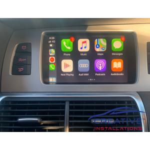 Audi Apple CarPlay Upgrade