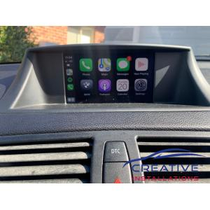 BMW 125i Apple CarPlay Upgrade