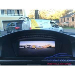 BMW 335i Front Parking Camera