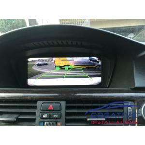 BMW 335i Reverse Camera