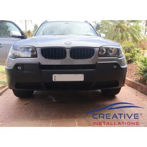 BMW X3 Front Parking Sensors