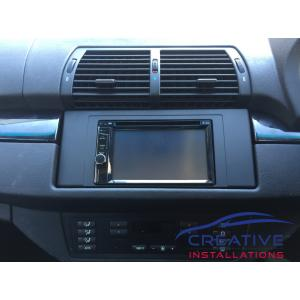 BMW X5 Infotainment System
