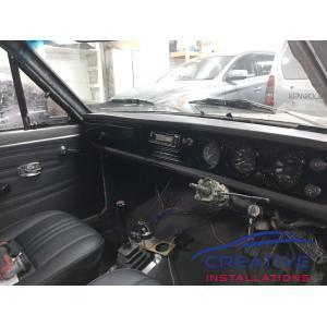 Datsun 1200 Ute Kenwood Car Stereo