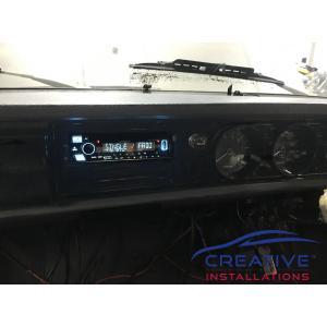 Datsun 1200 Ute Car Stereo