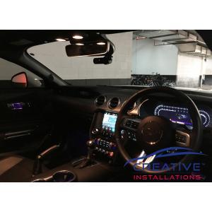 Mustang BlackVue Dash Cam installation Sydney