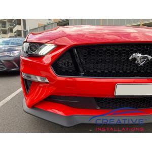 2019 Mustang Front Parking Sensors