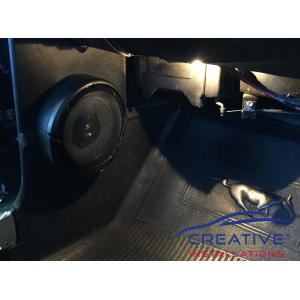 Mustang car speakers