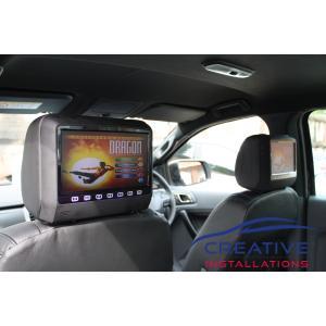 Ranger Headrest DVD Players