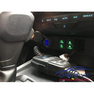 Ranger Lightforce Dual Voltmeter USB Fast Charger