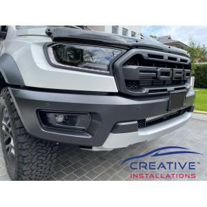 Raptor Front Parking Sensors