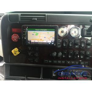 Freightliner GPS Navigation System