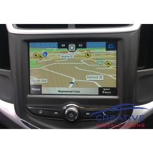 Barina Integrated GPS Navigation System