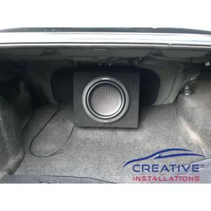Commodore Kenwood 10'' Subwoofer