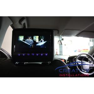 Commodore SV6 Headrest DVD Players