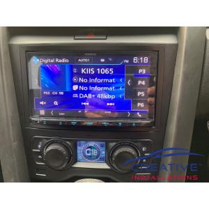 Commodore VE Kenwood DDX9019DABS Car Stereo