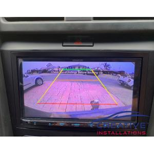 Commodore VE Reversing Camera