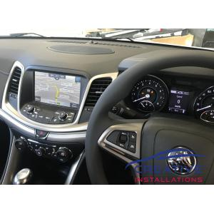 Holden Ute Integrated GPS Navigation System