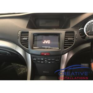 Accord Euro JVC KW-V340BT Head Unit